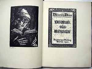 Der Rabbi von Bacherach.: Heine, Heinrich.