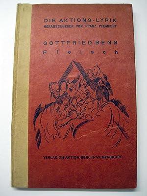 Fleisch. Gesammelte Lyrik.: Benn, Gottfried.
