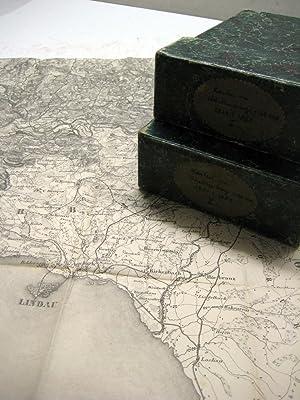 Topographischer Atlas des Koenigreichs Württemberg in 55 Blättern nach den Ergebnissen ...