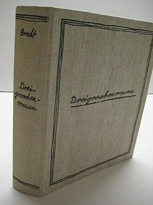 Dreigroschenroman.: Brecht, Bertolt.