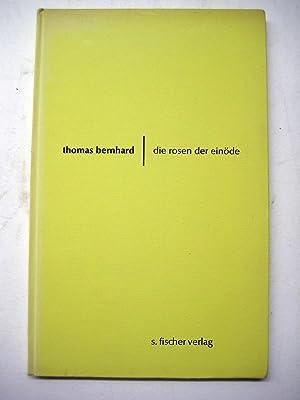 die rosen der einöde. fünf sätze für ballett, stimmen und orchester.: Bernhard,...