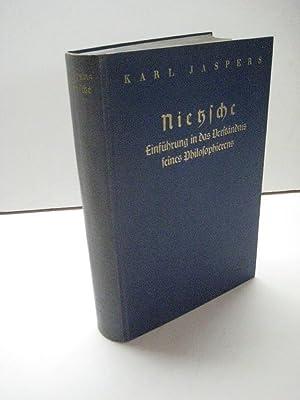 Nietzsche. Einführung in das Verständnis seines Philosophierens.: Nietzsche, Friedrich. ...