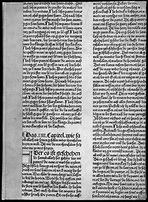 De quattuor virtutibus cardinalibus.: Blaubeurer Frühdruck. Pseudo-Seneca.