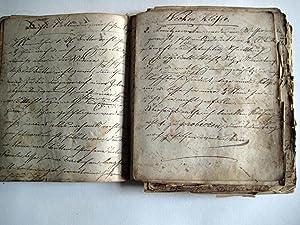 Kochbuch. Verschiedene Handschriften 19. Jahrhundert.: Küche.