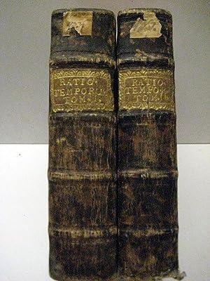 Rationarium temporum editio novissima, cui accesserunt, praeter: Petavius, Dionysius [d.i.Denis