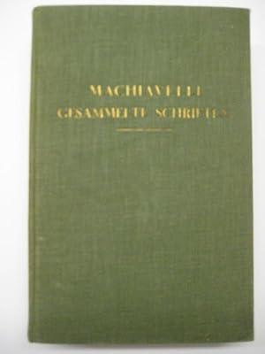 Gesammelte Schriften. Unter Zugrundelegung der Übersetzungen von J. Ziegler u. F. N. Baur hrsg...