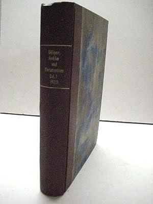 Antike und Christentum. Kultur- und religionsgeschichtliche Studien. 6 Bde.: Dölger, Franz Joseph.