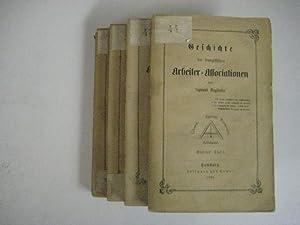 Geschichte der französischen Arbeiter-Associationen. 4 Bde.: Engländer, Sigmund.