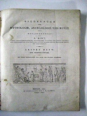 Bilderbuch für Mythologie, Archäologie und Kunst. Heft 1 (von 2): Die Tempelgötter.:...