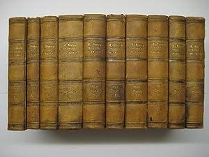 Römische Geschichte. Uebersetzt u. erläutert v. E. F. C. Oertel. 10 Bde.: Livius. (Titus ...