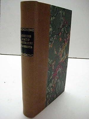 Oratio adversus Leptinem. Libanii declamatio pro Socrate. Aristoxeni rhythmicorum elementorum ...
