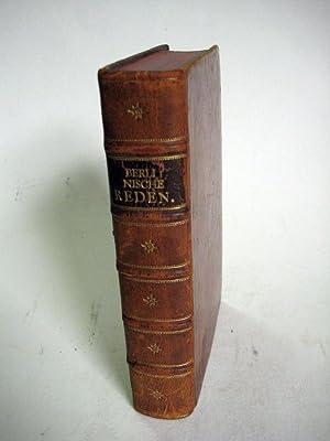 Berliner Reden].: Zinzendorf, Nikolaus Ludwig Graf v.