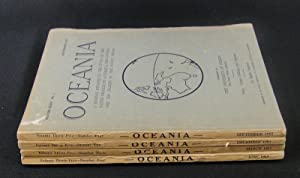 Oceania. Vol XXXV. Numbers 1 to 4