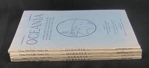 Oceania. Vol XLVIII. Numbers 1 to 4