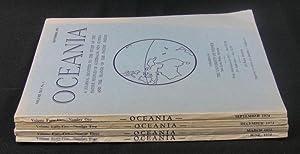 Oceania. Vol XLV. Numbers 1 to 4