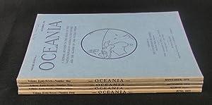 Oceania. Vol XLVII. Numbers 1 to 4
