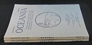 Oceania. Vol XLVI. Numbers 2, 3 &
