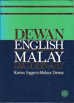 Dewan English-Malay Dictionary.: MALAY DICTIONARY].
