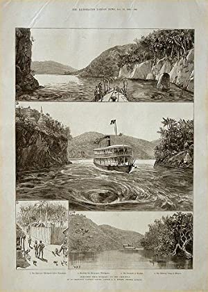 Sketches from Burmah: Up the Chindwin. By: NINETEENTH CENTURY WOOD
