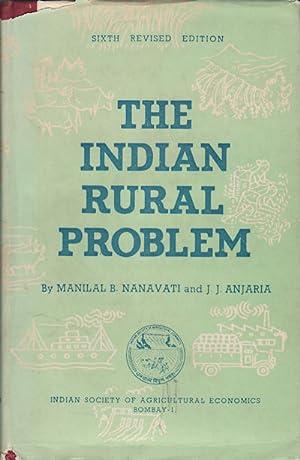 The Indian Rural Problem.: NANAVATII, MANILAL B.