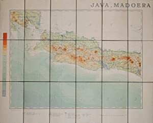 Java and Madoera. Showing West Java & Lampoengsche Districten. Batavia. [Map 1 of 2].