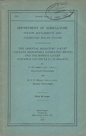 The Oriental Micratory Locust (Locusta Migratoria Manilensis: CORBETT, G.H. AND