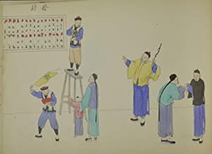 Fifty One Watercolours of Chinese Life and Customs by Unknown Chinese Artist]*.