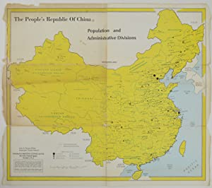 The People's Republic of China. Population and Administrative Divisions.