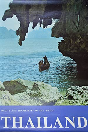 Thailand. Beauty and Tranquility of the South.: TRAVEL POSTER -
