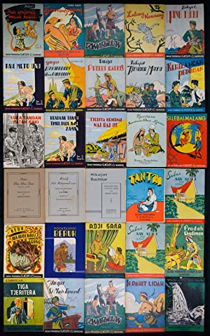 Collection of 34 Indonesian Readers Published by Badan Penerbitan G. Kolff & Co.