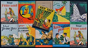 Collection of 11 Indonesian Readers Published by Badan Penerbitan G. Kolff & Co.