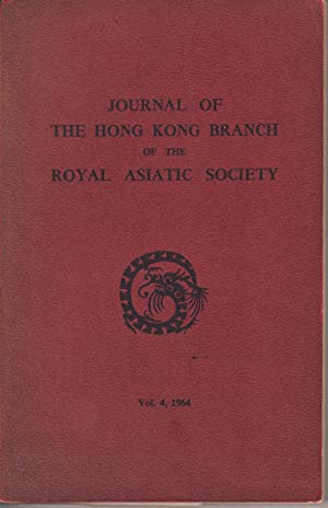 Journal of the Hong Kong Branch of: HONG KONG ROYAL