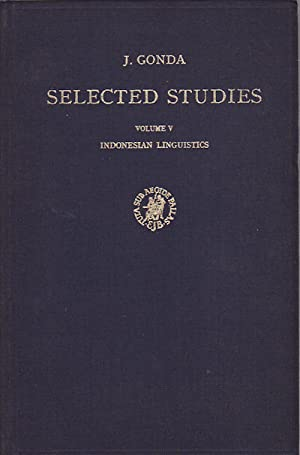 Selected Studies / Volume V: Indonesian Linguistics.