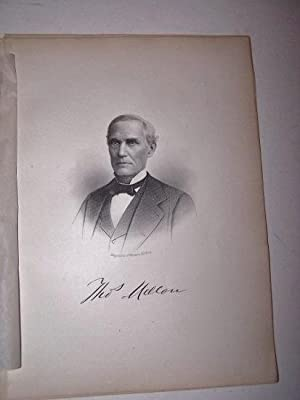 THOS. MELLON [Steel Engraved Portrait]