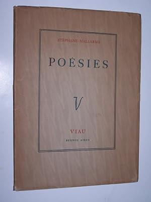 POESIES - Feuillets d'Album plusieurs Sonnets: Mallarme, Stephane ;