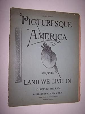 PICTURESQUE AMERICA, OR THE LAND WE LIVE IN - Part 40 with Steel Engraving of The Smoky Mountains: ...