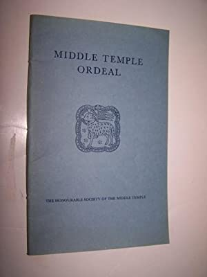 Middle Temple Ordeal - being an account of what World War II meant to the Inn, with an appendix o...