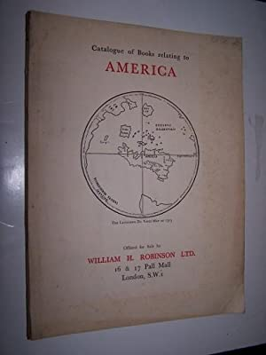 Books Relating to America Catalogue No. 41. 1933