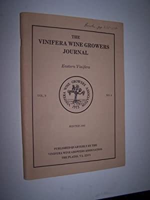 The Vinifera Wine Growers Journal - Volume 9, No. 4 (Winter 1982) including Wine Grape Production...