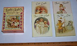 LITTLES TALES FROM LONG AGO (4 Volumes: Nister, Ernest; Illustrations,