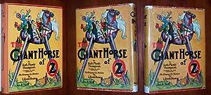THE GIANT HORSE OF OZ: Thompson, Ruth Plumly ; John R. Neill (illustrator)