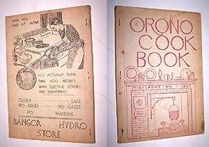 THE ORONO COOK BOOK: Ladies Aid