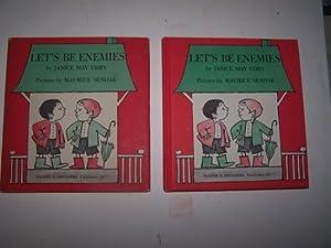 LET'S BE ENEMIES: Udry, Janice ; & Maurice Sendak (illustrator)