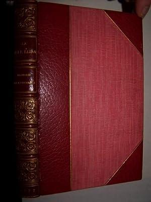 La Fille Elisa: Goncourt, Edmond de ; [SIGNED]