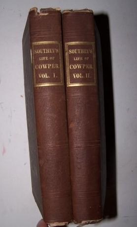THE LIFE OF WILLIAM COWPER, ESQ. in Two Volumes