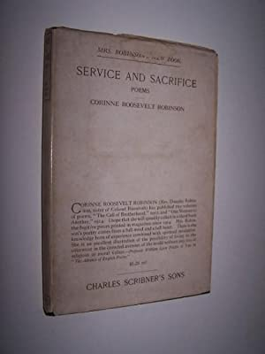 Service and Sacrifice: Poems [in the scarce dustjacket]