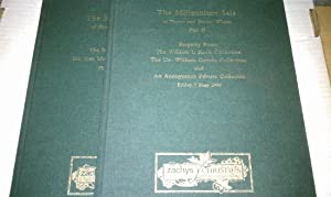 THE MILLENNIUM SALE OF FINEST AND RAREST WINES - PART I AND PART II ( Two volume set)