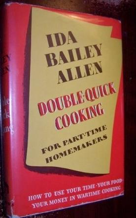 Double Quick Cooking for Part-Time Homemakers