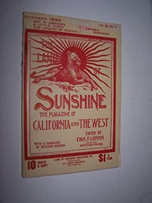 THE LAND OF SUNSHINE - The Magazine of California and The West