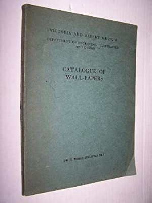 CATALOGUE OF WALL-PAPERS